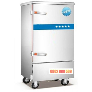 Tủ nấu cơm công nghiệp 8 khay dùng điện