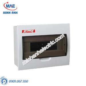 Tủ nhựa âm tường 8 module - Model HDPZ50PR8IP30F