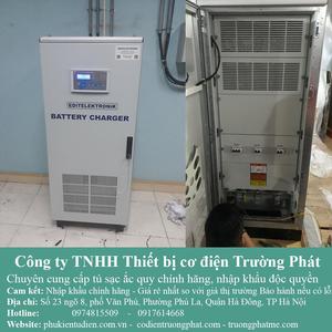 Tủ sạc ắc quy 110VDC/200A