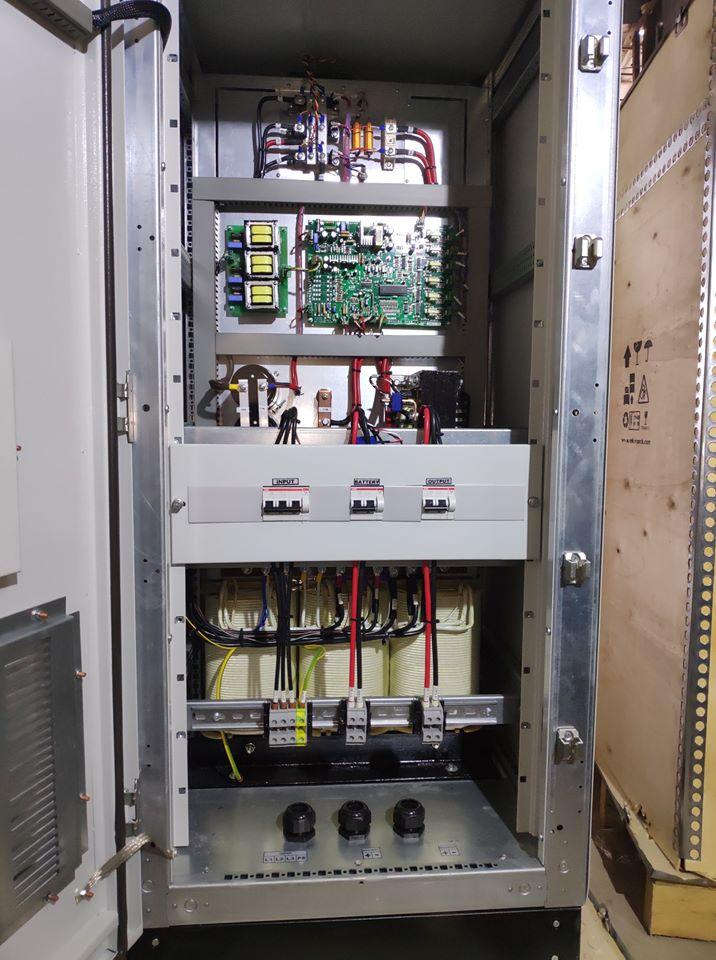 Tủ sạc ắc quy 110VDC/75A