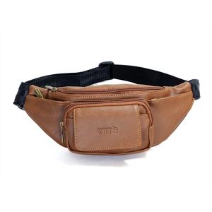 Túi đeo chéo CNT unisex TĐX43 đeo được 2 kiểu Bò Đậm