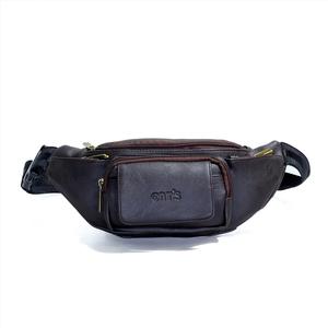Túi đeo chéo CNT unisex TĐX43 đeo được 2 kiểu Nâu