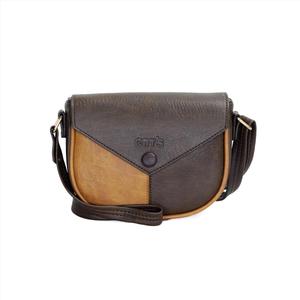 Túi đeo chéo nữ CNT TĐX51 cá tính Nâu
