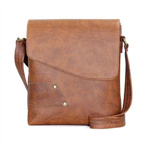 Túi đeo chéo Unisex CNT IPAD18 Bò Đậm