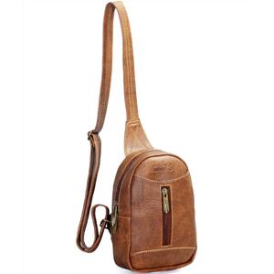 Túi đeo chéo unisex CNT MQ22 cá tính Bò Đậm