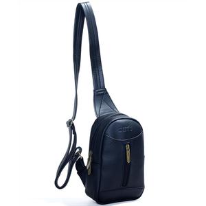 Túi đeo chéo unisex CNT MQ22 cá tính Đen