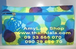 Túi đựng mỹ phẩm Lancome hoa tươi xinh - 0902966670 - 0933555070