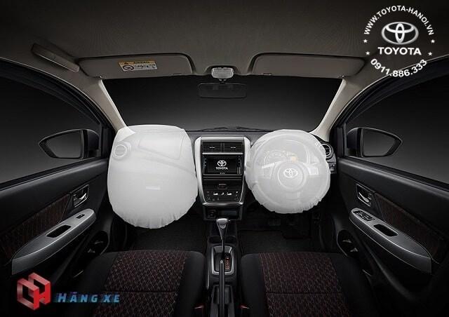 Nội thất xe Toyota Wigo 2021 nhập khẩu