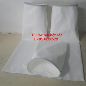 Túi lọc bụi bột sắt |Túi lọc bụi Polyester 500g/m2