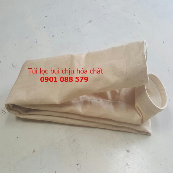 thận Túi lọc bụi chịu hóa chất (Homopolymer - Acrylic - DT) vải nomex