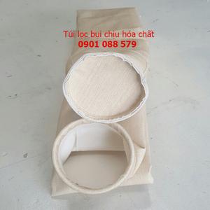 Túi lọc bụi chịu nhiệt nomex (AOG - Ấn Độ) may tại xưởng Gia Phạm