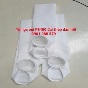 Túi lọc bụi PE400 đai thép đàn hồi