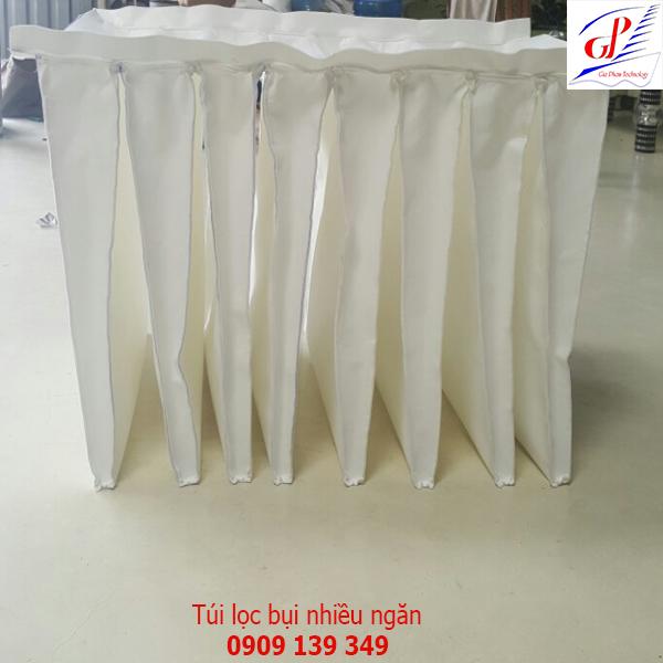 Túi lọc bụi nhiều ngăn polyester