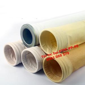 Túi lọc bụi Nomex, Acrylic, PTFE, PP (Polypropylene), PE (Polyester)