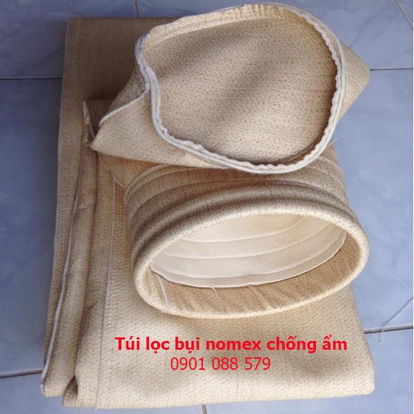 Túi lọc bụi chịu nhiệt vải nomex AOG (Ấn Độ)