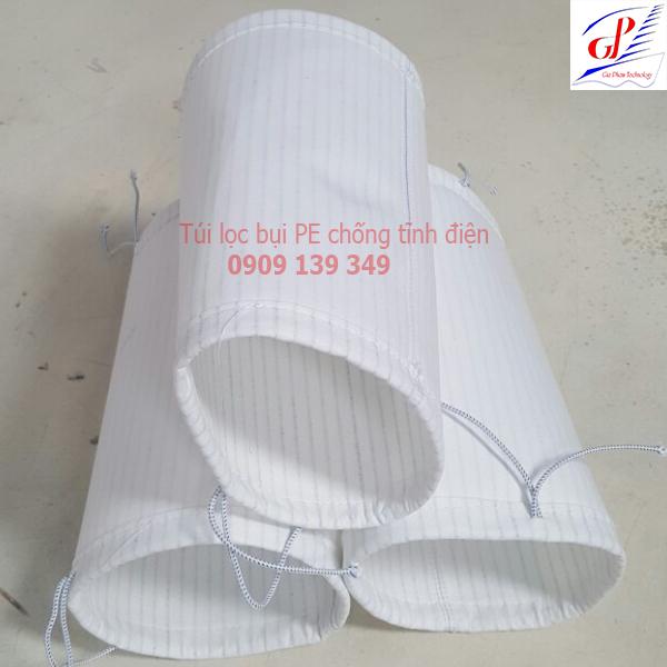 Túi lọc bụi polyester chống tĩnh điện