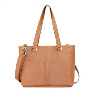 Túi xách CNT nữ TX23 thời trang công sở bò đậm