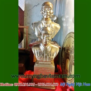 Tượng đại tướng Võ Nguyên Giáp bằng đồng cao 25cm