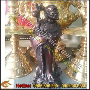 Tượng Đạt ma sư tổ cao 25cm,tượng thờ bằng đồng