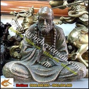 Tượng Đạt ma sư tổ cao 20cm và 30cm ngồi thiền