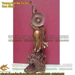 Tượng Đạt Ma Sư Tổ , tượng đồng thờ cúng