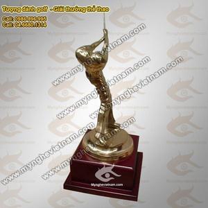 Tượng đồng đánh Golf, Biểu tượng quà tặng Giải thưởng Golf