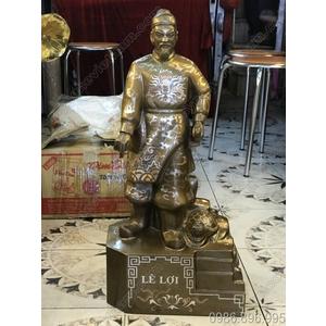 Tượng Lê Lợi đúc đồng đỏ, tượng đồng danh nhân Việt Nam
