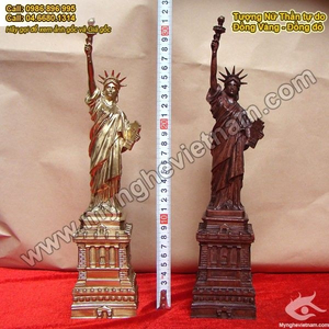 Tượng đồng Nữ thần tự do, tượng đồng quà tặng