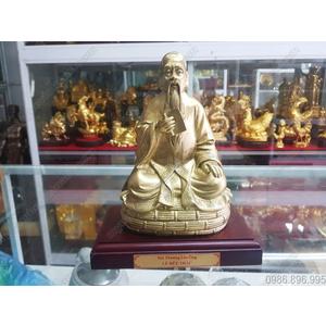 Tượng Hải Thượng Lãn Ông Lê Hữu Trác cao 25cm bằng đồng