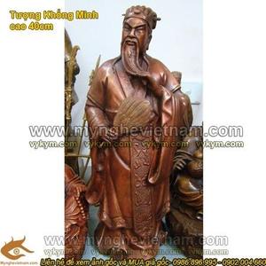 Tượng Khổng Minh cao 40cm, Tượng Gia Cát Lượng