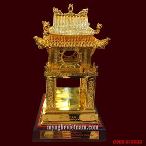 Tượng Khuê Văn Các cao 35cm mạ vàng 24k cao cấp