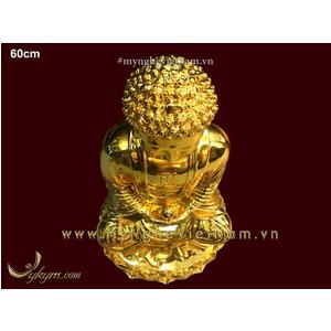 Tượng Phật A Di Đà bằng đồng mạ vàng cao cấp