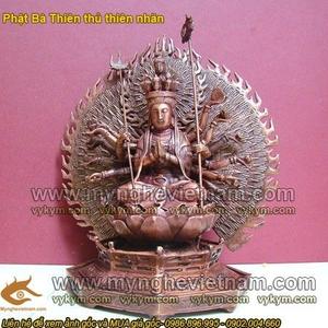 Tượng Phật bà nghìn mắt nghìn tay, phật bà thiên thủ thiên nhãn 25cm