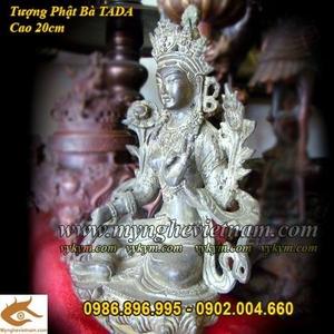 Tượng Phật Bà Tây Tạng 20cm, Phật bà Mật Tông