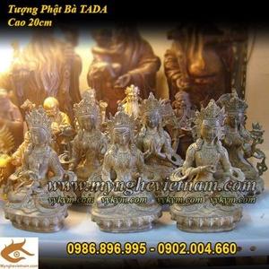 Tượng Phật kim cang đát tỏa cầm chày kim cang cao 20cm