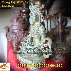 Tượng Phật Bà Tây Tạng 20cm, Phật bà Mật Tông,Phật Tada