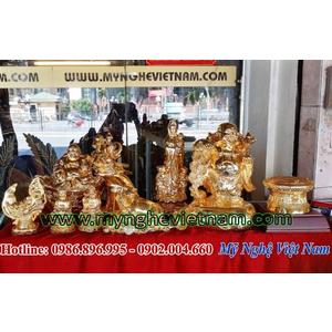 Tượng Phật mạ vàng trang trí nội thất