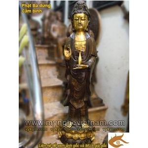 Tượng Phật Quan Âm Bồ Tát ngồi cao 25cm