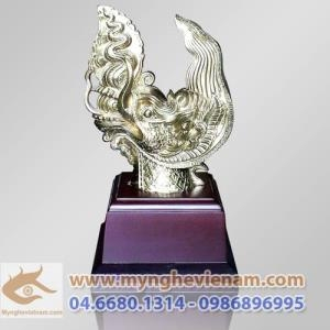 Tượng Rồng Lý, Đầu Rồng nhà Lý, tượng đồng quà tặng, tượng đúc mô hình đầu rồng lý cổ