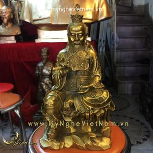 Tượng Thái Thượng lão quân ngồi cao 40cm