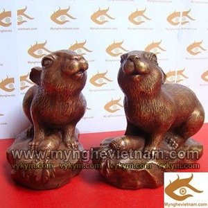 Tượng Thỏ đồng, Tượng đồng con vật, tượng phong thủy