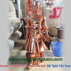 Tượng vua Lê Lợi, Đúc tượng đồng cho các danh nhân