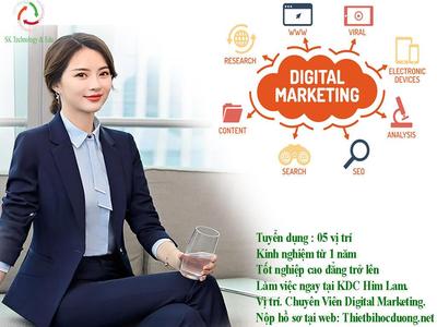 Tuyển Nhân viên Digital Marketing