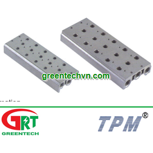 Manifold for valve TPM TVF   Bộ điều phối cho van điện từ khí nén TPM TVF   TPM Vietnam