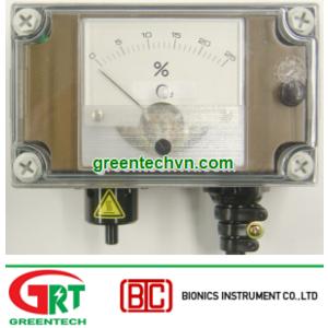 Bộ phát hiện thiếu Oxi Bionics TX-1100FK   Oxygen deficiency detector TX-1100FK   Bionics Vietnam