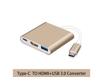 Đầu chuyển USB Type C ra HDMI - Type C - USB tốc độ cao