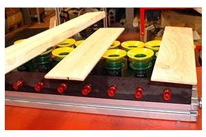 Ứng dụng Núm hút chân không Piab trong Chế biến gỗ và xử lý gỗ