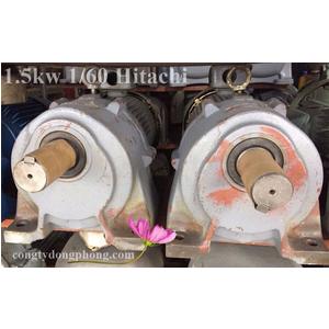 Motor giảm tốc Hitachi 2hp 1/60