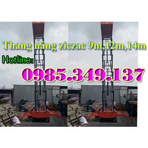 Tìm đâu Thang nâng ziczac 12m, Model SJY 0.3-12 an toàn