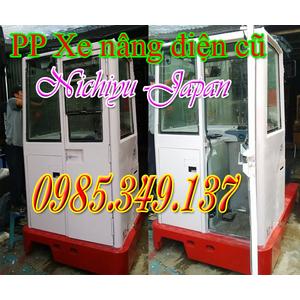 Xe nâng điện cũ Nichiyu 2.5 tấn dùng cho kho lạnh giá rẻ cuối năm
